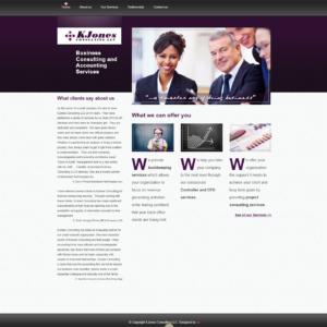 KJones Consulting LLC Website